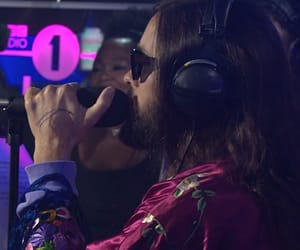 30 seconds to mars, jared leto, and bbc radio 1 image
