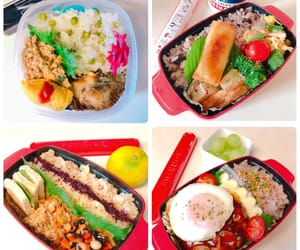 lunch, お弁当, and ランチ image