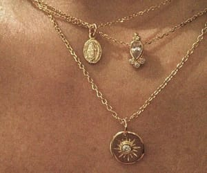 chest, neck, and necklace image