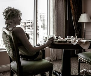 blonde, breakfast, and sheet image