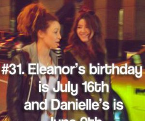 birthday, danielle peazer, and july 16th image