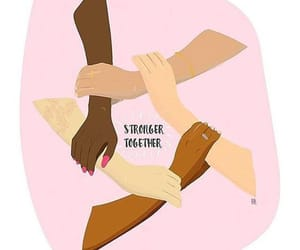 feminism, empowerment, and girl power image