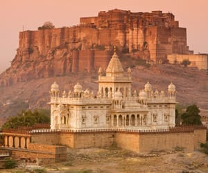 india, jodhpur, and mehrangarh fort image