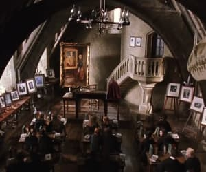architecture, harry potter, and classroom image