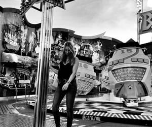 Amusement Parks, b and w, and black and white image