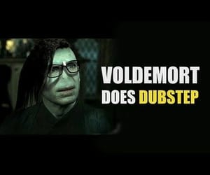 dubstep, harrypotter, and potterhead image
