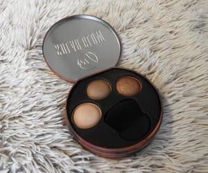 bronze, makeup, and solar image