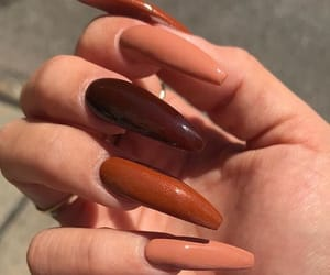 brown, inspiration, and nails goals image