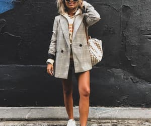 blazer, fashion, and street style image