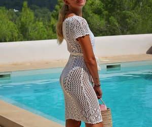 piscina, verano, and pool image