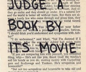 books, Gone with the Wind, and reading image