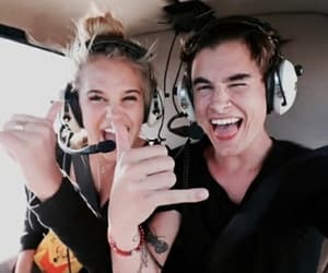 kian lawley, model, and meredith mickelson image