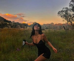 girl, nature, and pretty image