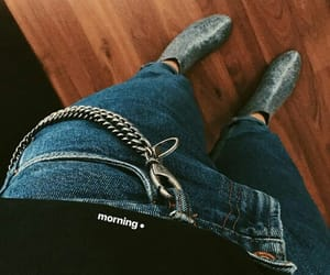 clothes, botas, and jean image