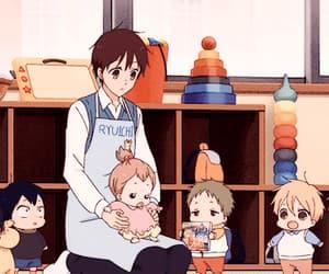 anime, midori, and takuma image