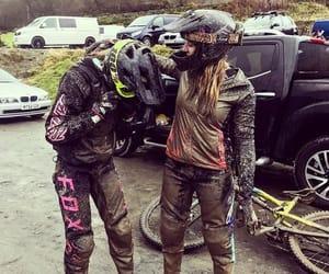 biker, fox, and girls image