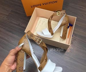 LV, ♥, and shoes image