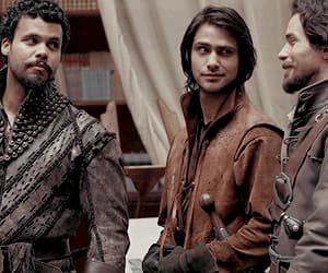 gif, the musketeers, and howard charles image