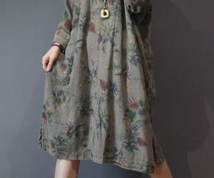 etsy, maxi dress linen, and linen dress image