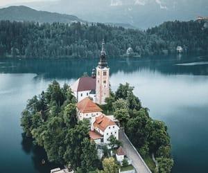 lake, vertical, and landscape image