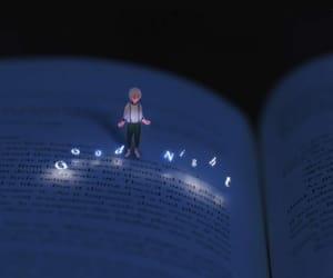 book, night, and good night image