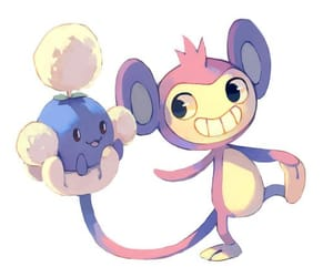 pokemon, aipom, and jumpluff image