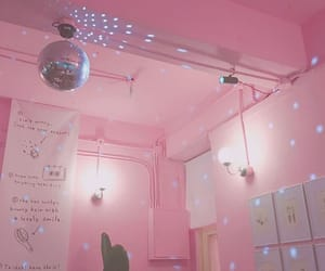 pink, aesthetic, and room image