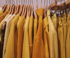 yellow, aesthetic, and clothes image