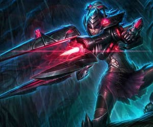 headhunter, caitlyn, and riot games image