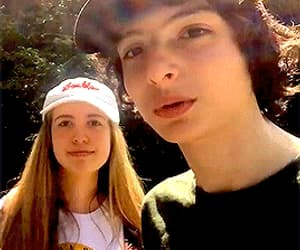 gif and finn wolfhard image
