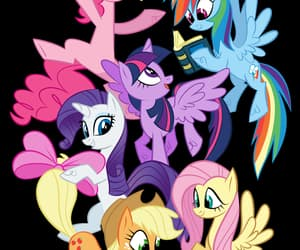 adorable, magic, and my little pony image