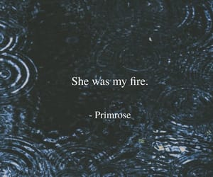 fire, poetry, and writer image