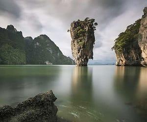 national park, Island, and phang nga bay image