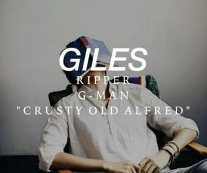 rupert giles, Giles, and buffy the vampire slayer image