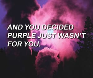 purple, Lyrics, and quotes image
