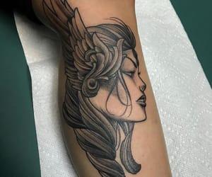 tattoo, vikings, and valkiry image