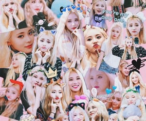 Collage, 이달의소녀, and edit image