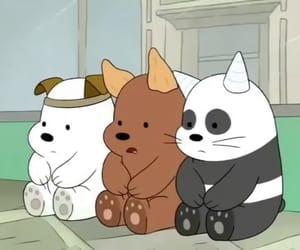 we bare bears, bear, and cartoon image