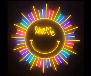 neon and smile image