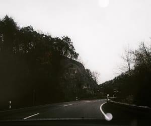 black, sky, and tourism image
