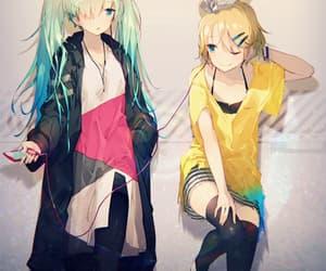 anime girl, hatsune miku, and vocaloid image