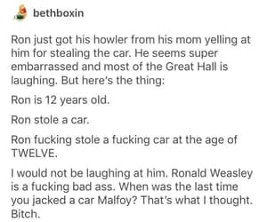 draco malfoy, harry potter, and ron weasley image