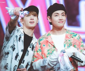 couple, jk, and kim taehyung image