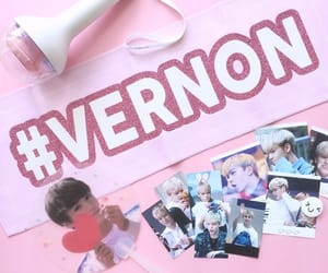banner, kpop, and pink image
