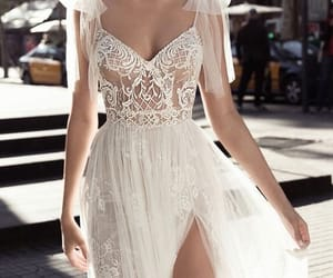 dress, marriage, and sexy image