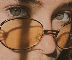 girl, aesthetic, and eyes image