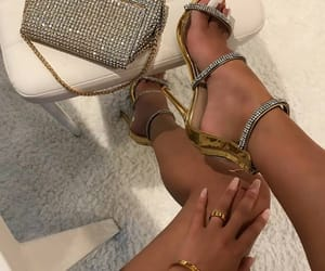 high heels, luxury, and pumps image