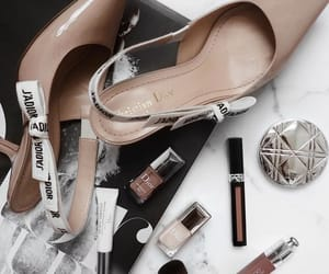 fashion, makeup, and dior image