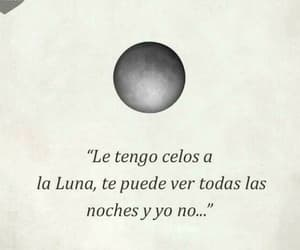 palabras, 🌛, and celos image
