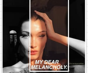 album, bella hadid, and edit image